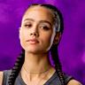 Nathalie Emmanuel en el papel de Ramsey
