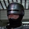 Peter Weller en el papel de RoboCop