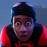 Shameik Moore en el papel de Miles Morales / Spider-Man