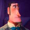 Hugh Jackman en el papel de Sir Lionel Frost