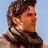 Oscar Isaac en el papel de Poe Dameron