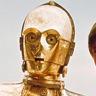Anthony Daniels en el papel de C-3PO