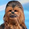Peter Mayhew en el papel de Chewbacca