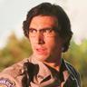 Adam Driver en el papel de Ronnie Peterson