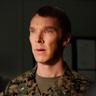 Benedict Cumberbatch en el papel de Teniente Coronel Stuart Couch