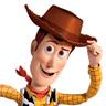 Tom Hanks en el papel de Woody