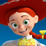 Bo Peep en el papel de Jessie