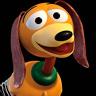 Blake Clark en el papel de Slinky Dog