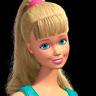 Jodi Benson en el papel de Barbie