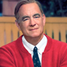 Tom Hanks en el papel de Fred Rogers