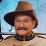 Robin Williams en el papel de Teddy Roosevelt