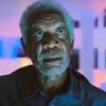 Morgan Freeman en el papel de Damon