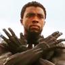 Chadwick Boseman en el papel de T'Challa / Black Panther