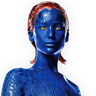 Jennifer Lawrence en el papel de Mystique