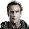 Aaron Eckhart en el papel de Adam Frankenstein