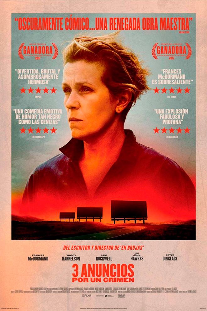 Poster de la Película: Tres Anuncios por un Crimen
