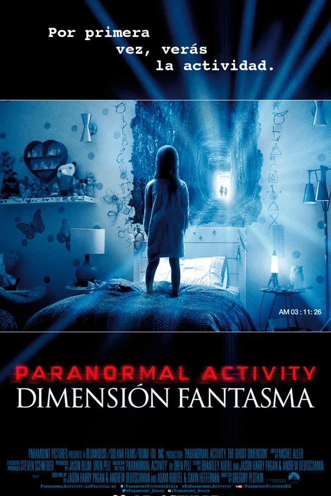 Poster de la Película: Paranormal Activity: Dimensión Fantasma