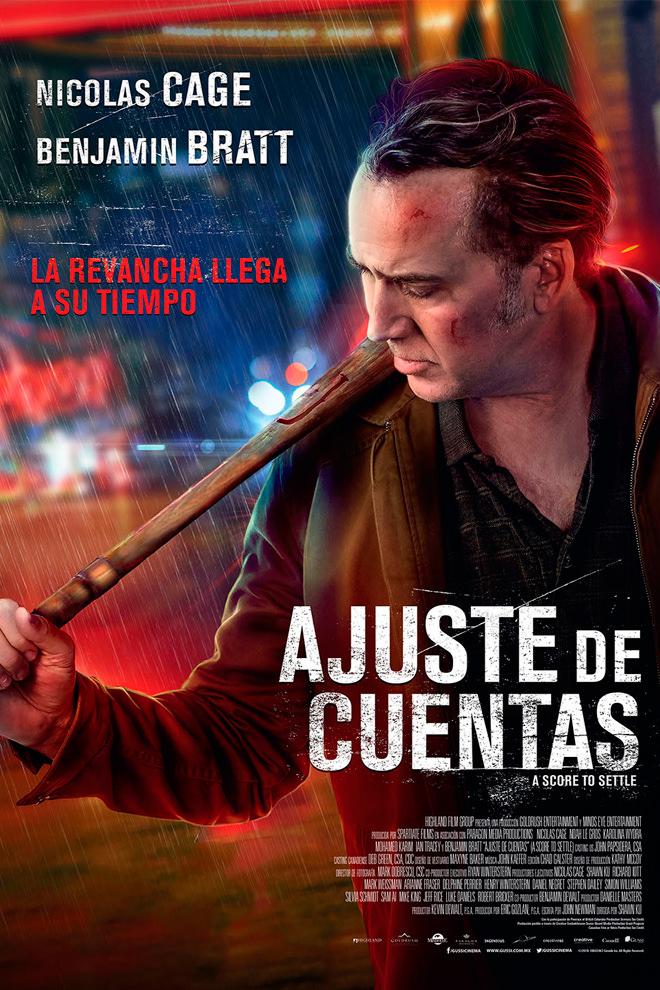 Poster de la Película: Ajuste de Cuentas (2019)