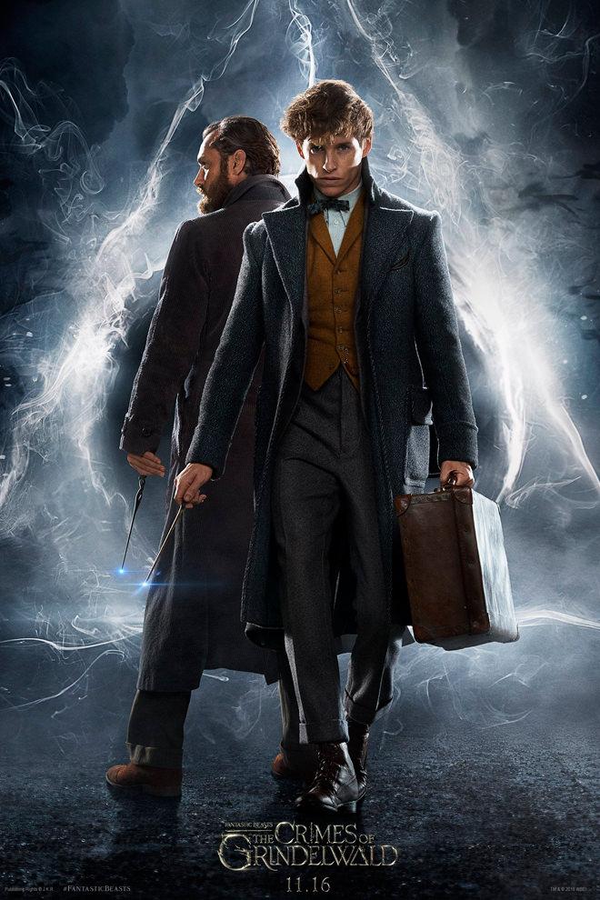 Poster de la Película: Animales Fantásticos: Los Crímenes de Grindelwald