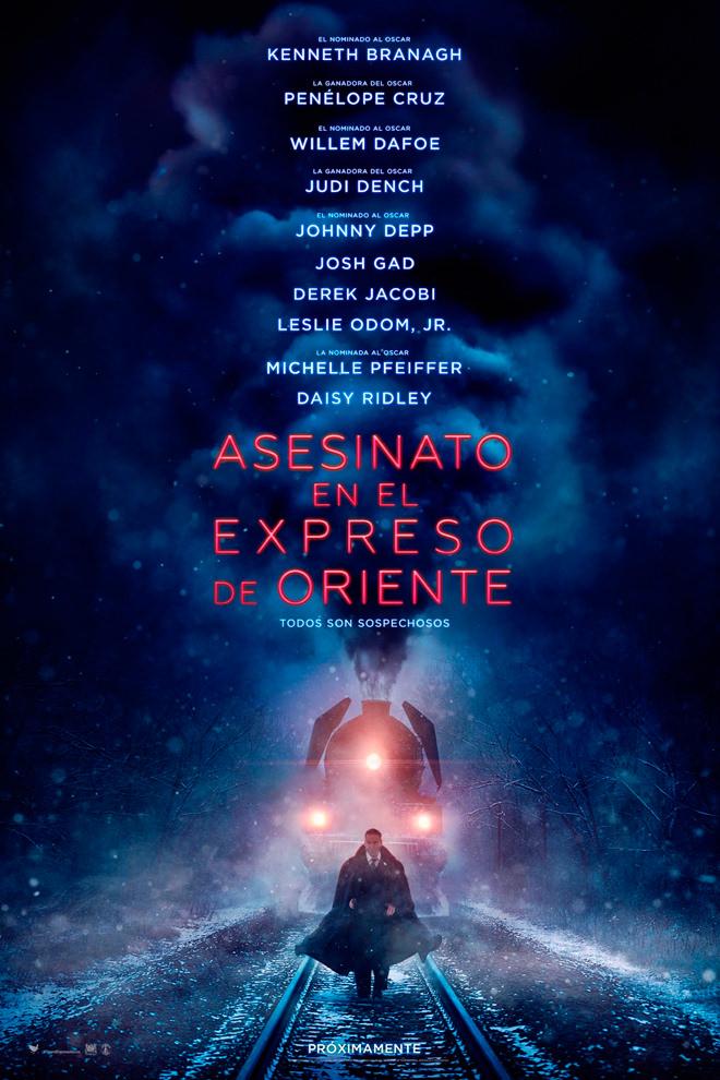 Poster de la Película: Asesinato en el Expreso de Oriente (2017)
