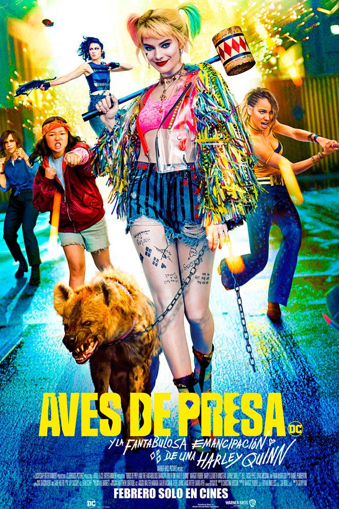 Poster de la Película: Aves de Presa (2020)