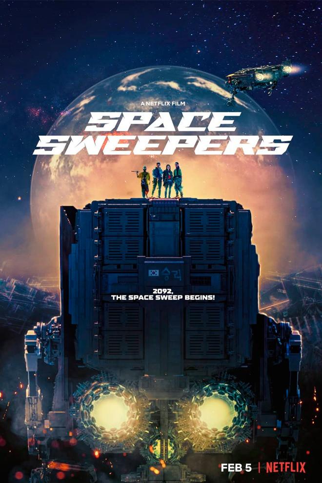Poster de la Película: Space Sweepers