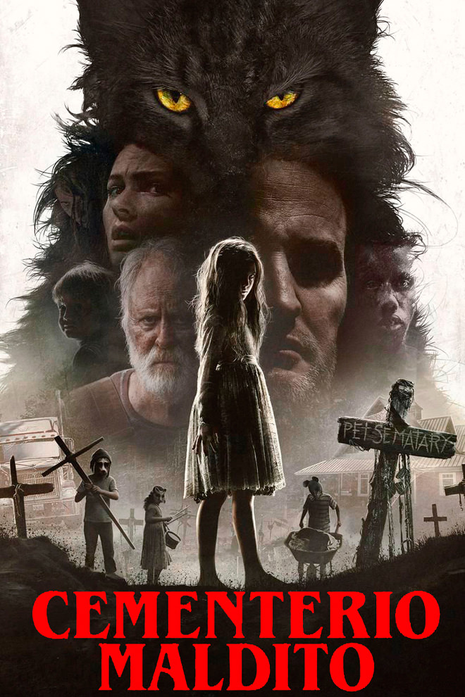 Poster de la Película: Cementerio Maldito (2019)