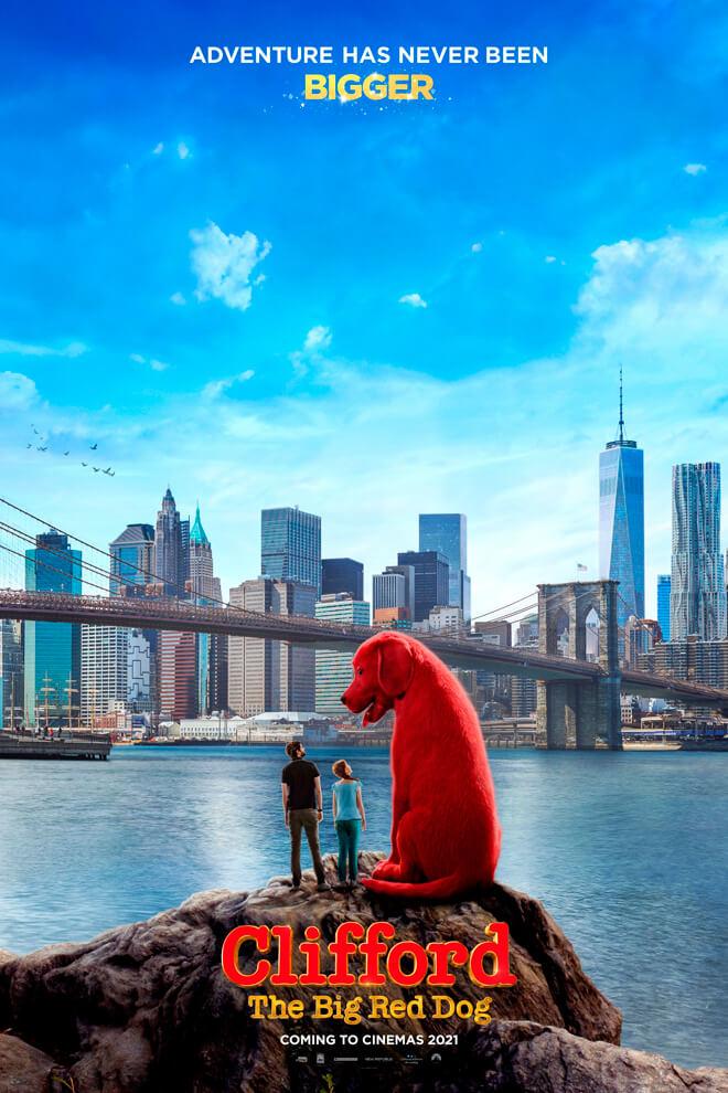 Poster de la Película: Clifford: El Gran Perro Rojo
