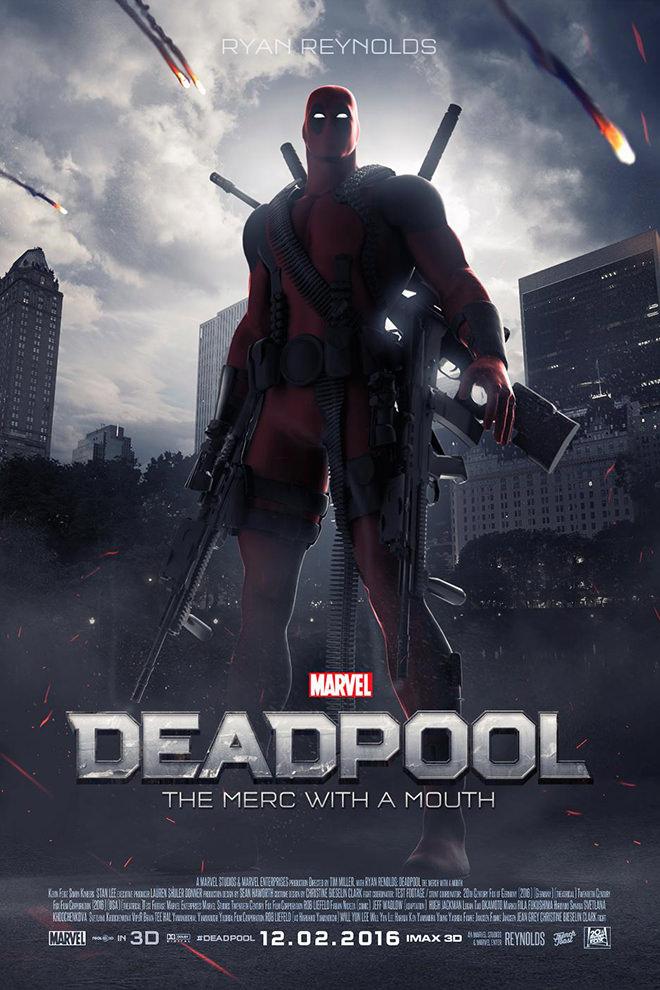 Poster De La Pel 237 Cula Deadpool