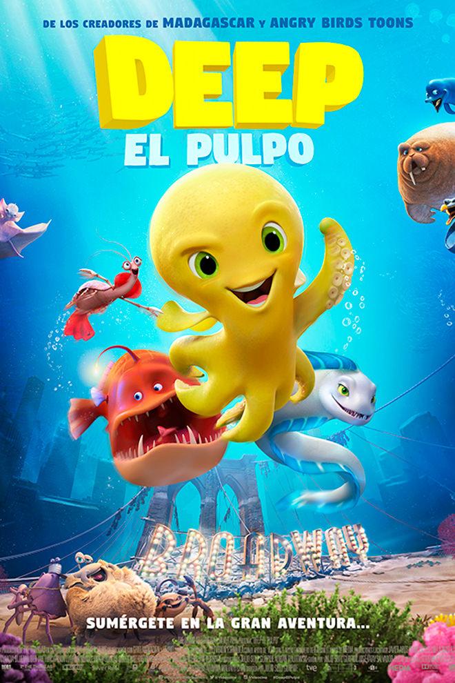 Poster De La Pel 237 Cula Deep El Pulpo