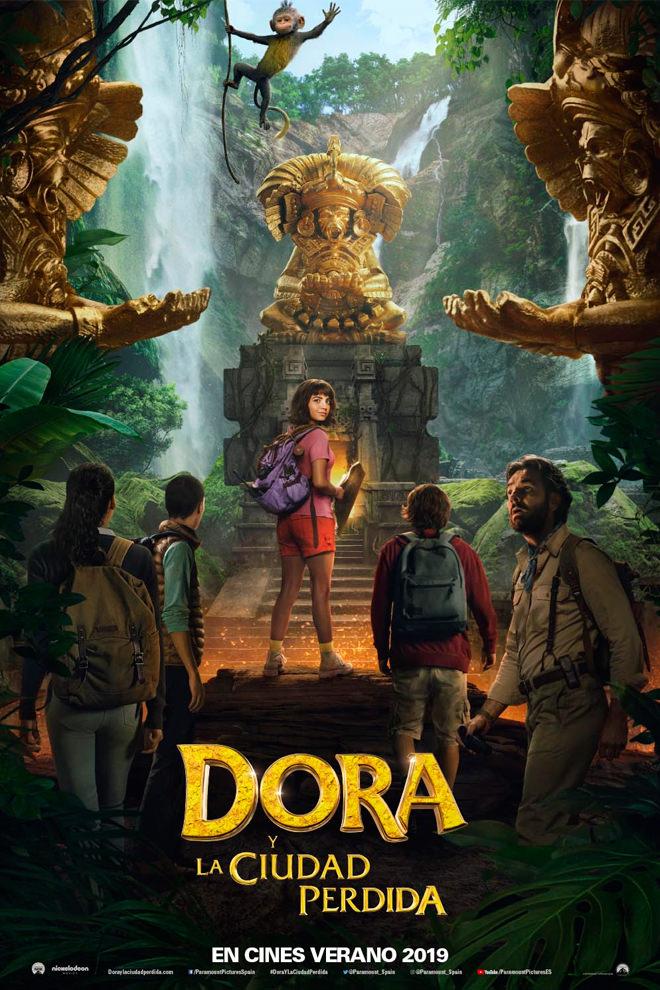 Poster De La Pel 237 Cula Dora Y La Ciudad Perdida