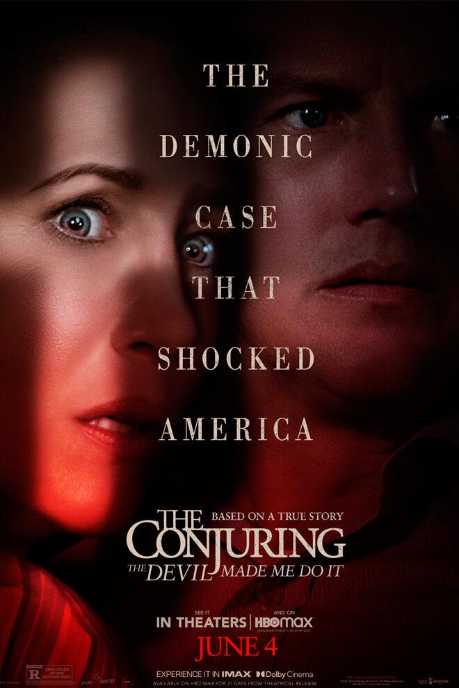 Poster de la Película: El Conjuro 3: El Diablo me Obligó a Hacerlo