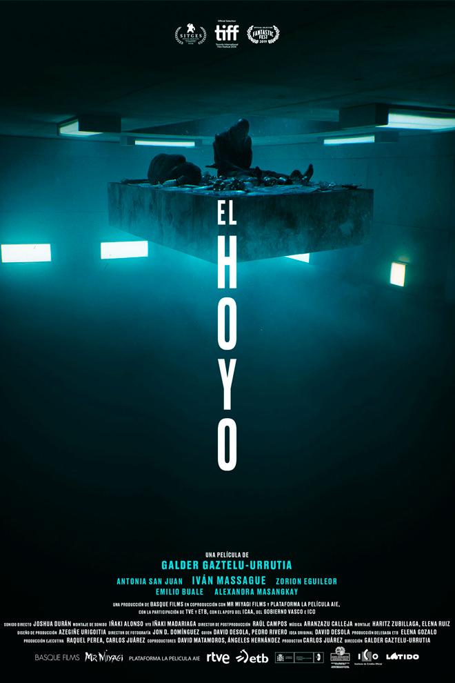 Poster de la Película: El Hoyo (2019)