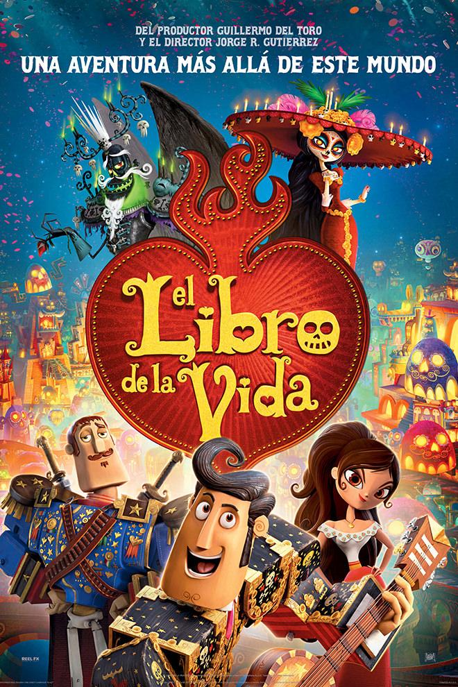 Poster de la Película: El Libro de la Vida