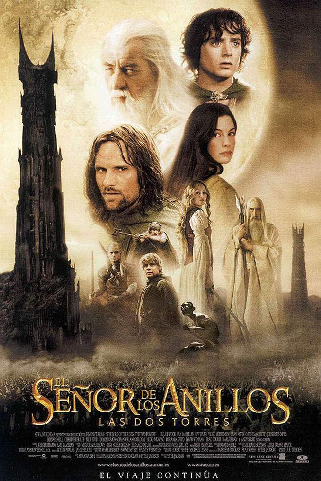 Poster de la Película: El Señor de los Anillos: Las dos Torres