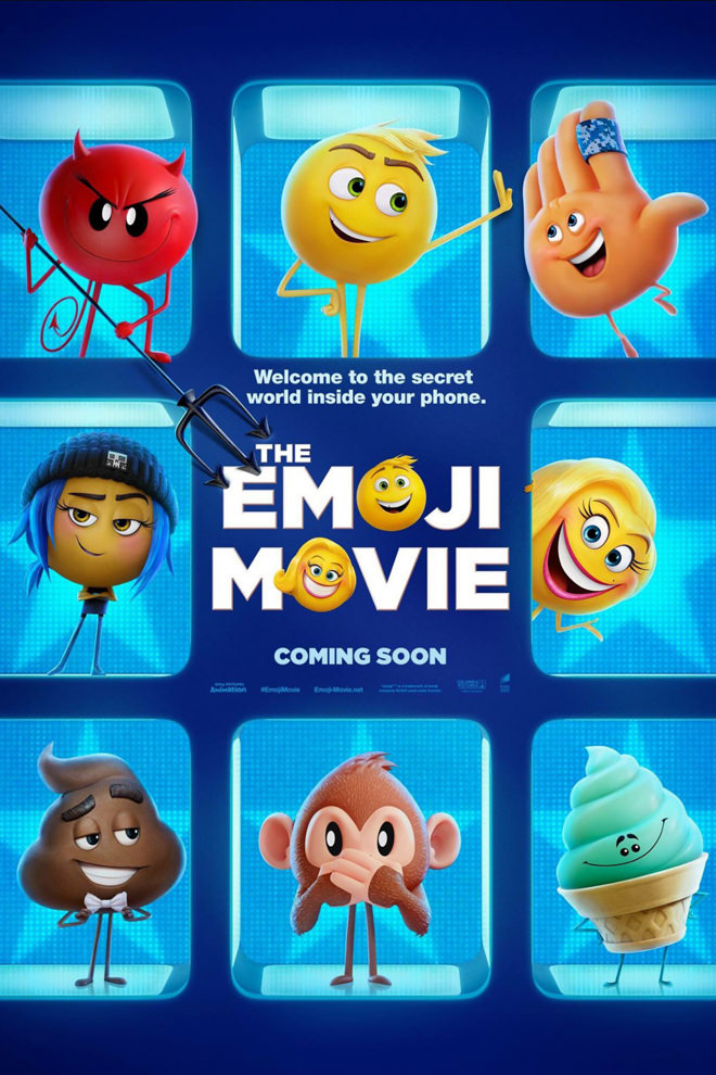 Poster de la Película: The Emoji Movie