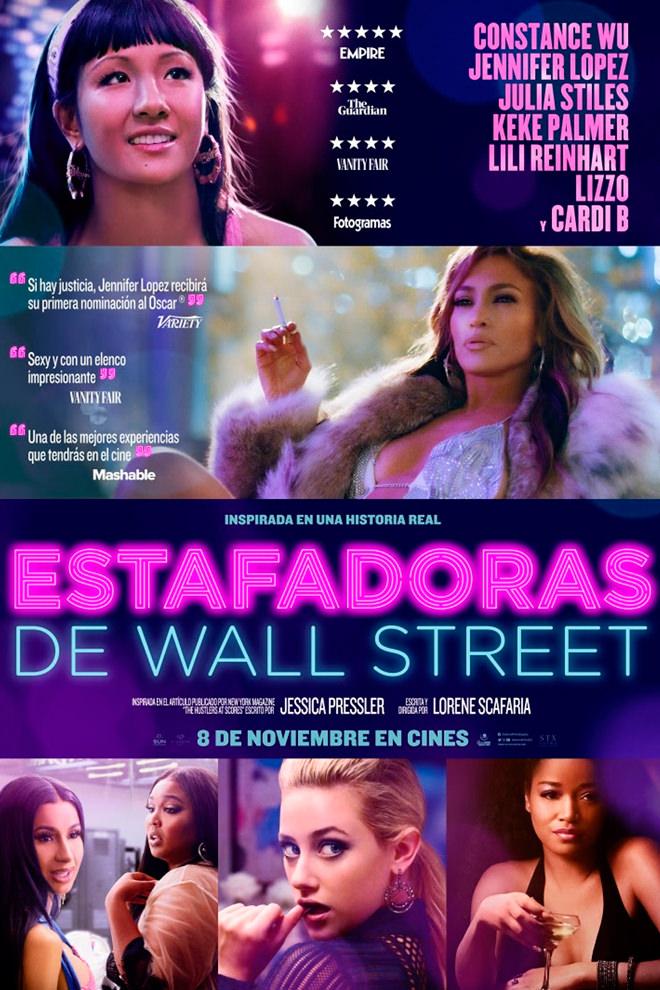 Poster de la Película: Estafadoras de Wall Street