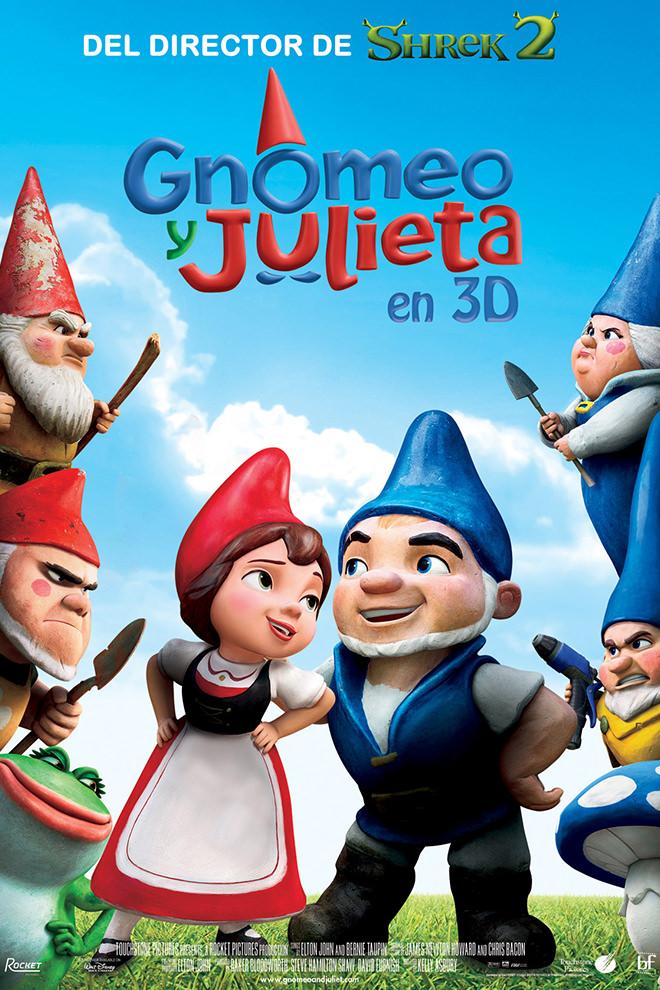 Poster De La Pel 237 Cula Gnomeo Y Julieta