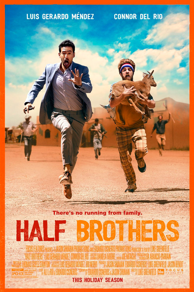 Poster de la Película: Half Brothers (2020)