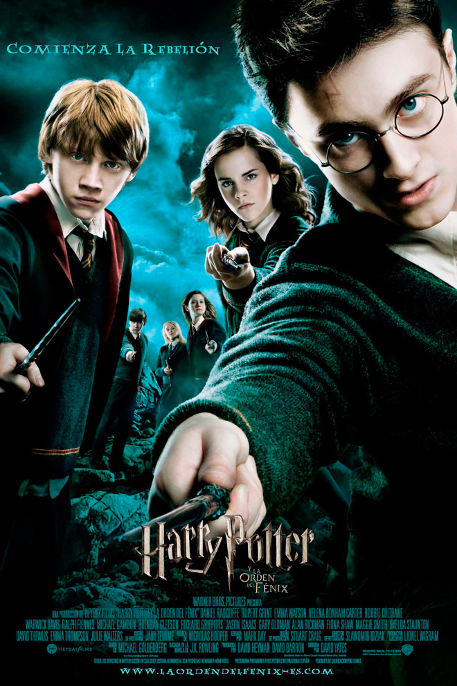 Poster de la Película: Harry Potter and the Order of the Phoenix
