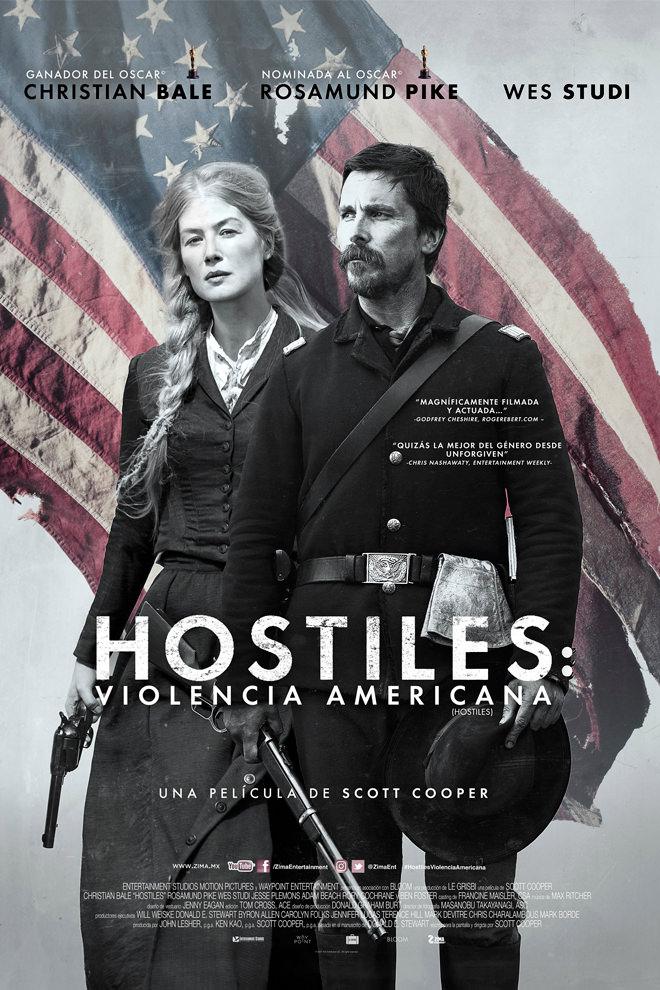 Poster De La Pel 237 Cula Hostiles Violencia Americana