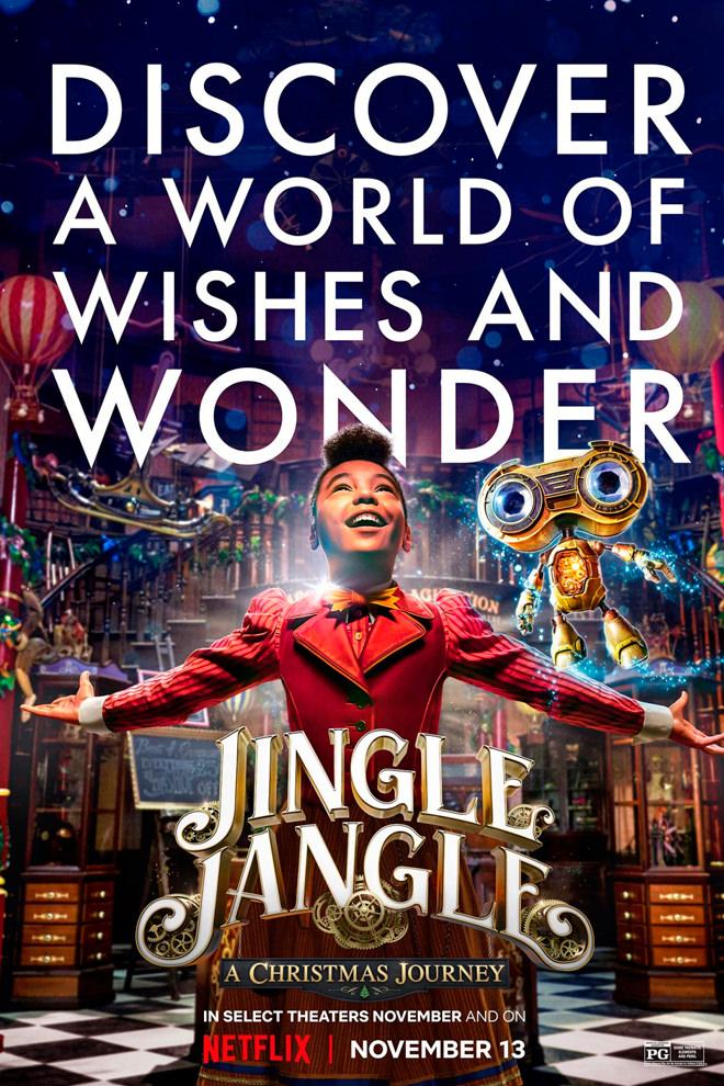 Poster de la Película: La Navidad mágica de los Jangle