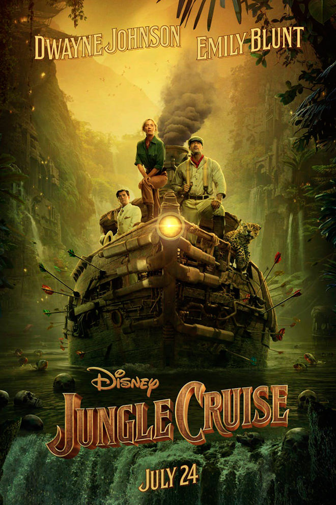 Poster de la Película: Jungle Cruise