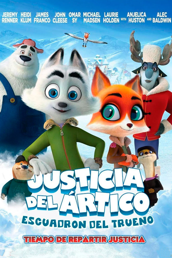 Poster de la Película: Arctic Dogs