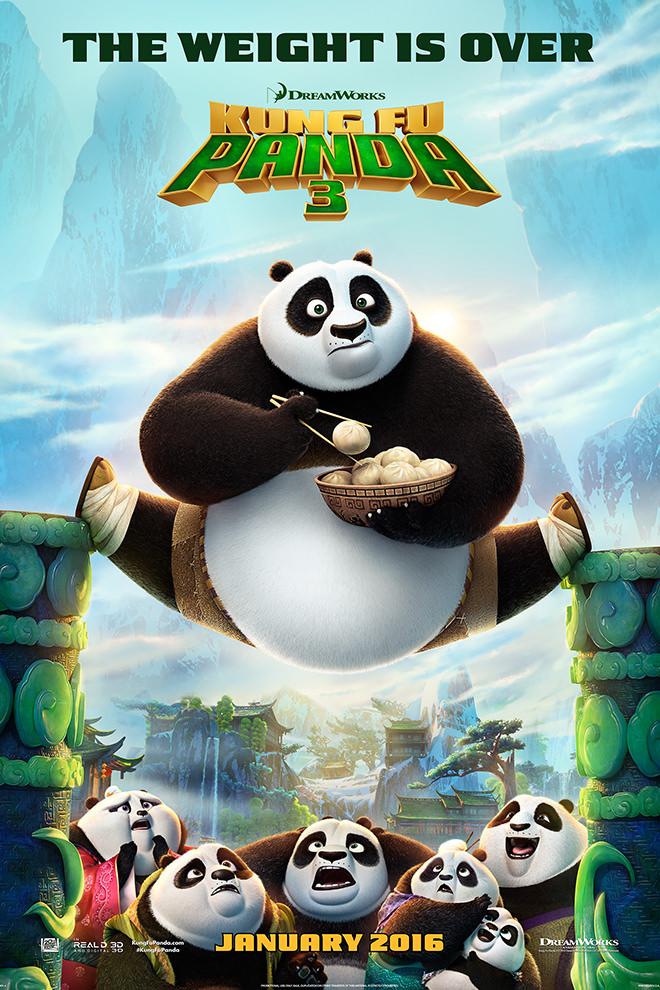 Poster de la Película: Kung Fu Panda 3