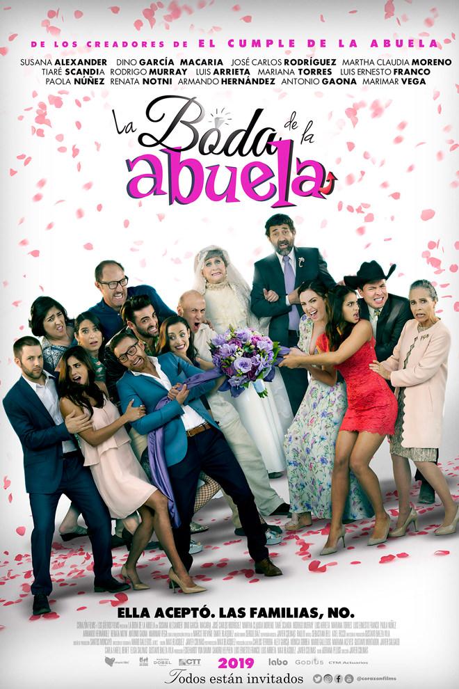 Poster de la Película: La Boda de la Abuela