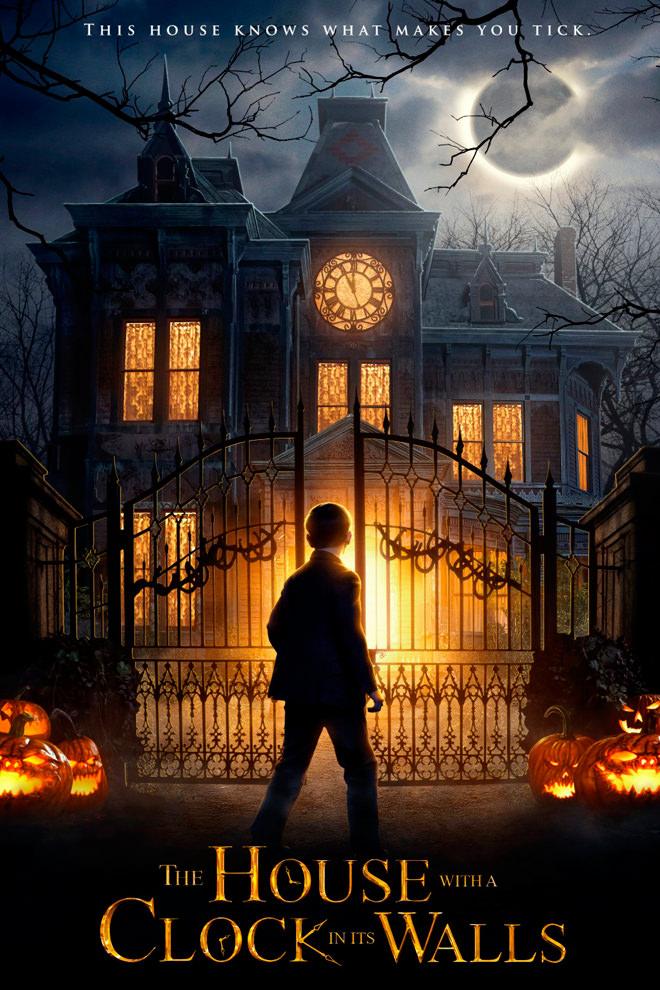 Poster de la Película: La Casa con un Reloj en sus Paredes