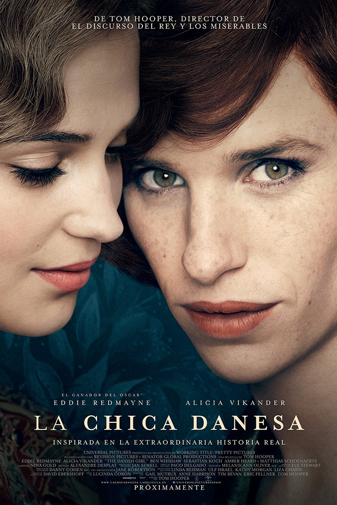 Poster de la Película: La Chica Danesa