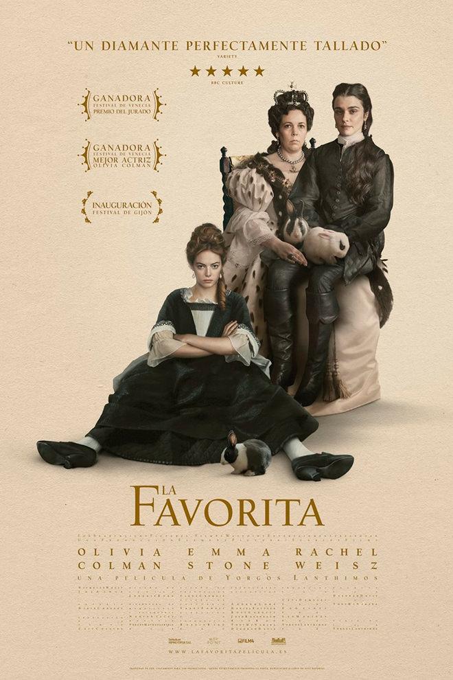 Poster de la Película: La Favorita (2018)