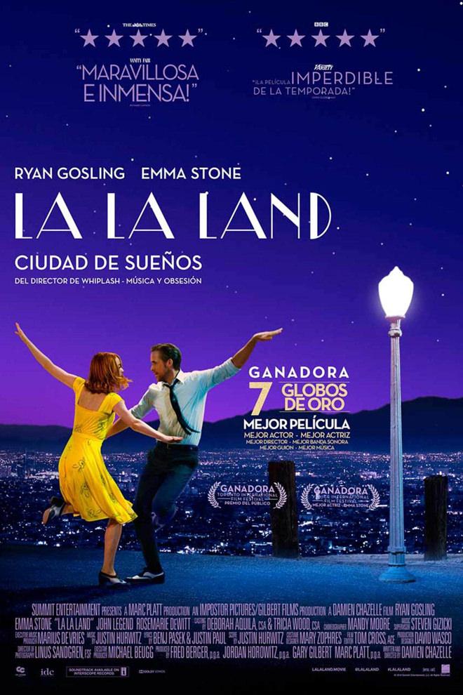 Poster de la Película: La La Land: Una Historia de Amor